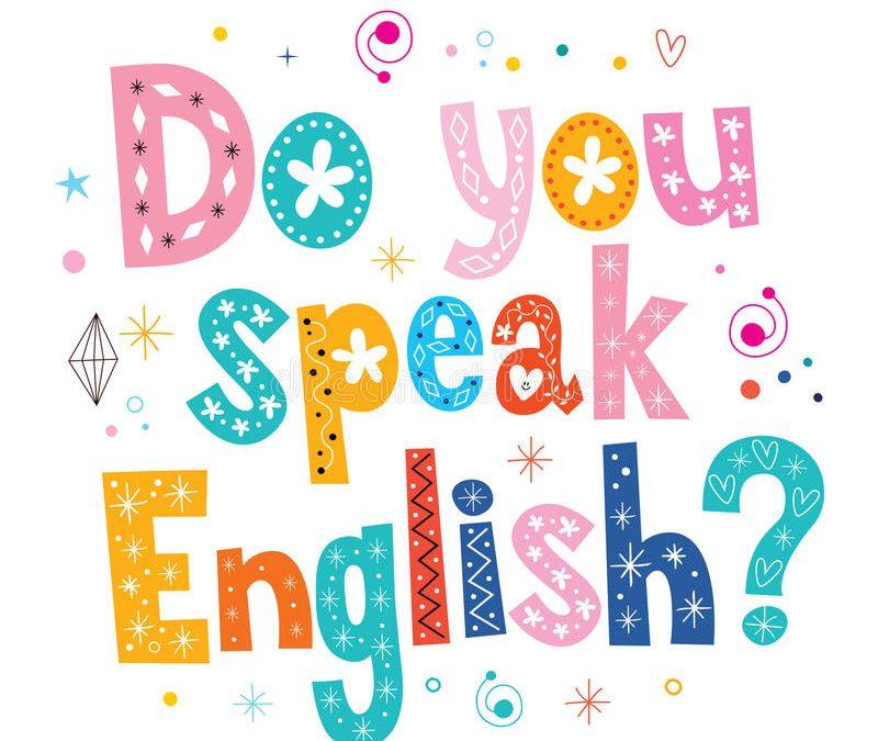 ¡ENGLISH CLASS NOVEMBER 2019!